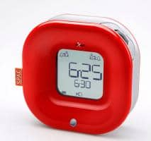 aXbo SINGLE RED Sleep Phase Alarm Clock
