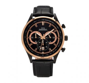 Luca Maranello Nobile Chronograph Gold/Black G4825A3
