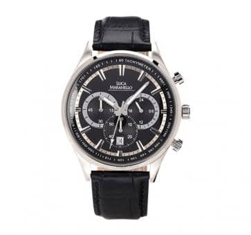 Luca Maranello Nobile Chronograph Silver/Black/Blue G4825C