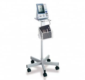 OMRON Mobile Stand with Storage Basket for HEM 907 Upper Arm