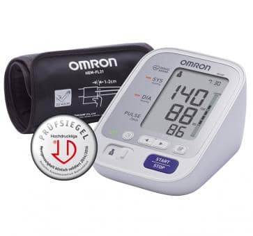 OMRON M400 (HEM-7134-D) with Intelli Wrap Cuff Upper Arm Blo