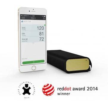 QardioArm A100-IGO gold Upper Arm Blood Pressure Monitor