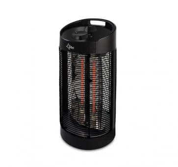 Suntec Heat Ray Carbon Tower 1200 OSC Riscaldatore e ventola in carbonio