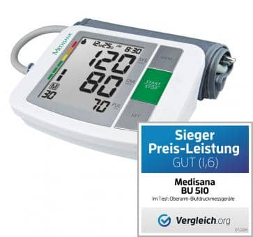 Medisana BU 510 Upper Arm Blood Pressure Monitor