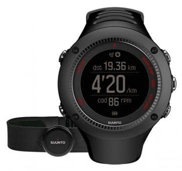 Suunto Ambit3 Run Black HR Wrist Computer